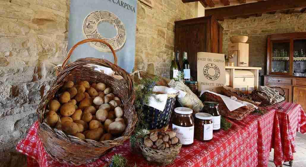 Itinerari gastronomici in Umbria